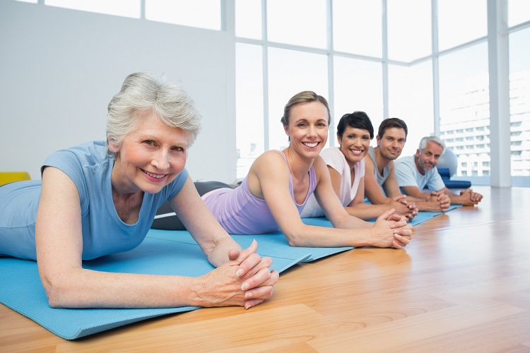 yoga classes seniors