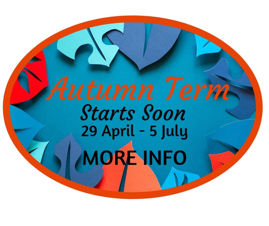 Autumn Term Starts Soon 29 April More Info